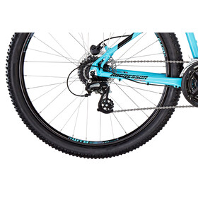 GT Bicycles Aggressor Expert gloss aqua blue/black/red